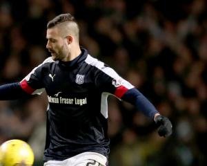 Clean sheet delights Dundee matchwinner Marcus Haber