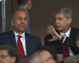 Arsenal add two new faces to backroom team