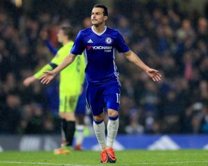 Batshuayi hits double but Pedro injured in Chelsea win