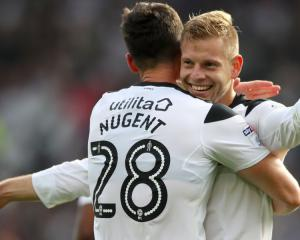 Forest's nemesis Matej Vydra stars for Derby in win over local rivals