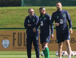 Dyche: Jonathan Walters could feature in Ireland's World Cup play-off