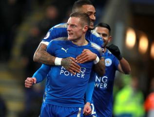 Vardy and Mahrez fire Leicester to victory over Spurs