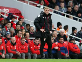 Eddie Howe promises Bournemouth will not underestimate troubled Arsenal