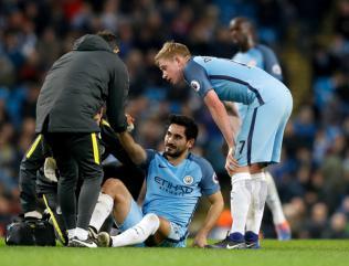 Ilkay Gundogan returns from injury in Manchester City friendly against Girona