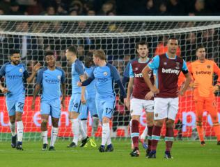 City sound FA Cup warning as Hammers crumble