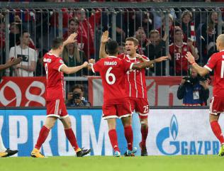 Three and easy for Bayern as Celtic ruthlessly brushed aside in Munich