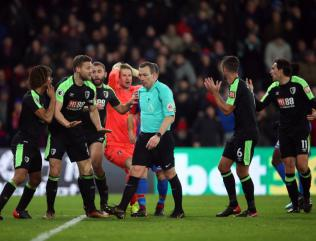 Bournemouth wait for answers on Palace penalties