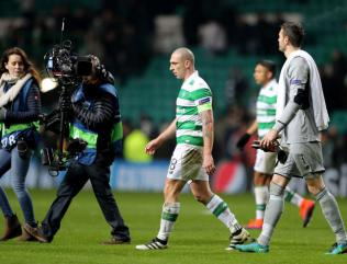 Celtic's Scott Brown and Moussa Dembele out but not down after Barcelona defeat