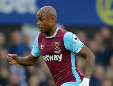 Andre Ayew Urges West Ham To Learn From Narrow Carabao Cup Defeat