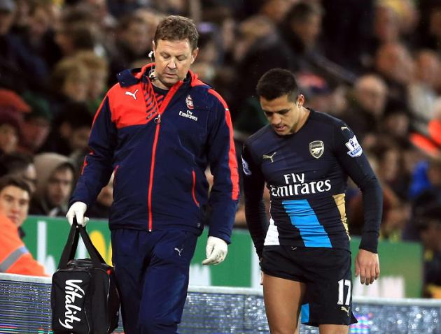 Leading physiotherapist says Arsenal injuries could be down to tactical approach