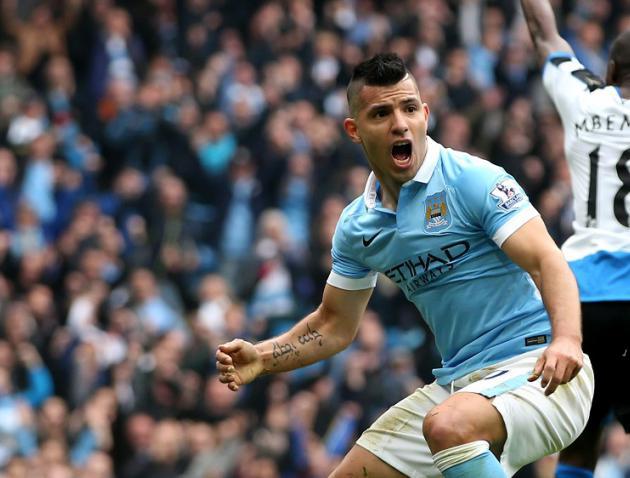 Man City striker Sergio Aguero suffers hamstring injury on international duty