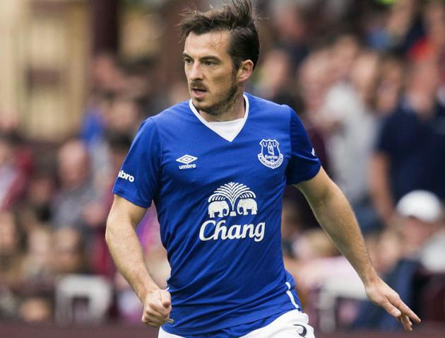 Everton defender Leighton Baines could be set for first game of season