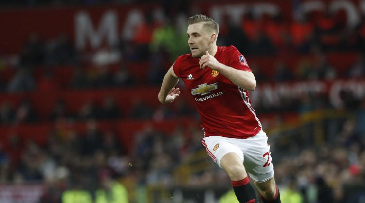 Shaw absent from Manchester United squad along with Rooney and Darmian