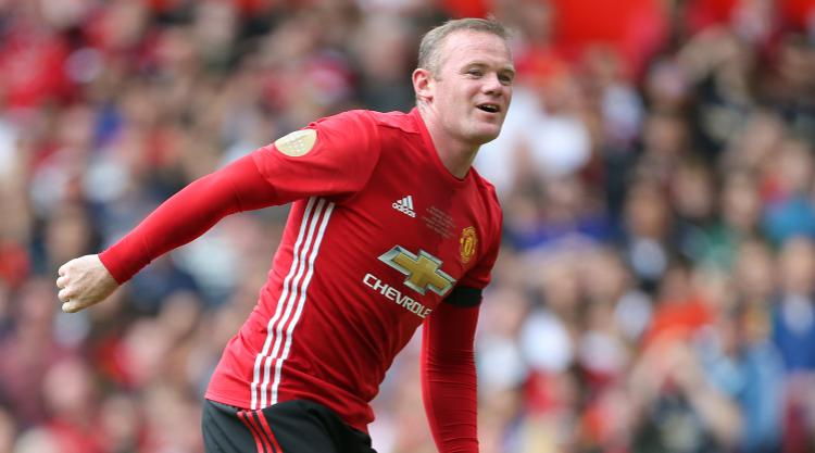 Rooney already back in training as Manchester United future remains up in air