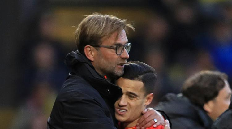Liverpool boss Klopp: Everything is fine between me and Barca target Coutinho