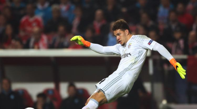Benfica goalkeeper Ederson due to arrive in Manchester as City deal moves closer