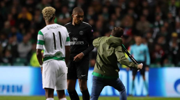 Celtic facing UEFA disciplinary over fan pitch invasion