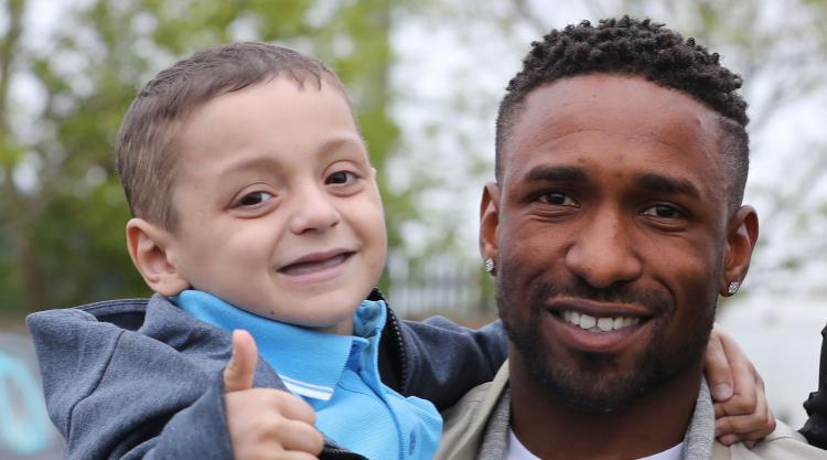 Jermain Defoe leaves training camp in Spain to attend Bradley Lowery's funeral