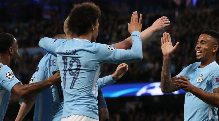 Raheem Sterling and Gabriel Jesus on target as Manchester City sink Napoli