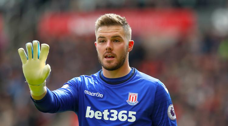 Jack Butland impresses with Gareth Southgate watching on