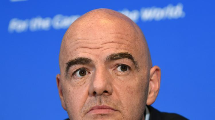 FIFA president Infantino confirms video referees to be used at 2018 World Cup