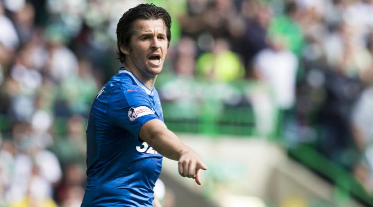 Joey Barton's Rangers suspension still in place following meeting