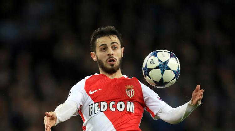 Monaco playmaker Bernardo Silva undergoing medical at Manchester City