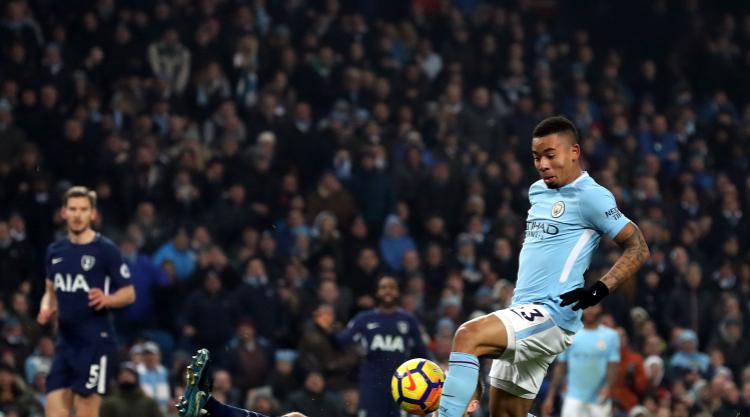 Premier League leaders Manchester City have no intention of easing up - Jesus