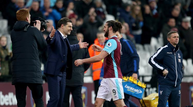 West Ham boss Slaven Bilic praises 'magnificent' Hammers who make Palace pay