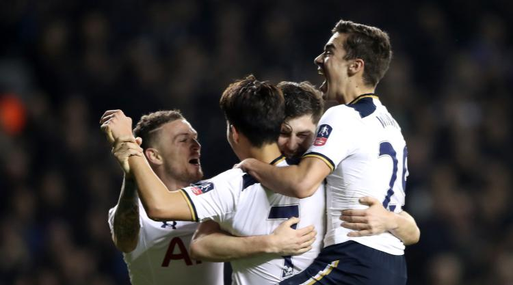 Tottenham leave it late to get past stubborn Aston Villa in FA Cup