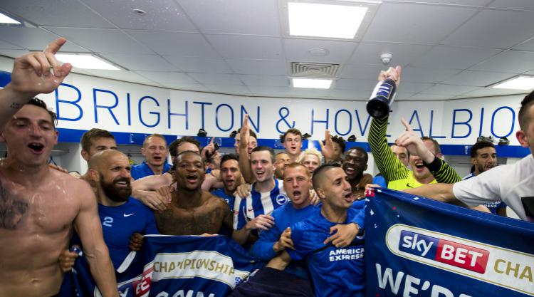 Steve Sidwell says Brighton will not rest on their laurels following promotion
