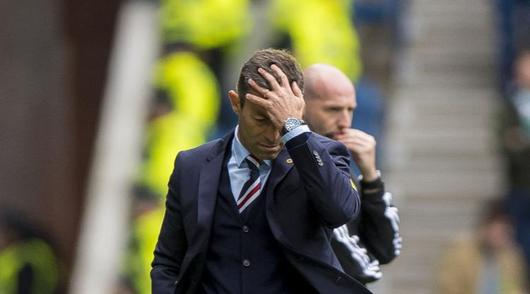 Rangers boss Caixinha takes blame and apologises to fans after shock defeat