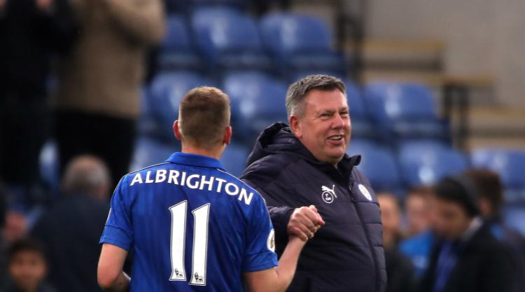 Delight for Craig Shakespeare as Leicester secure Premier League status