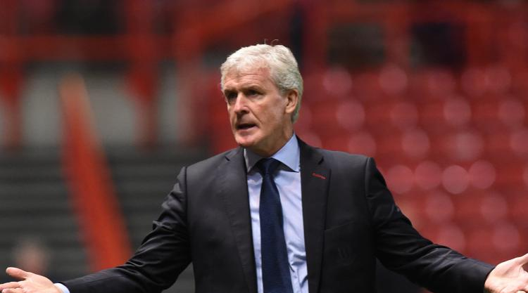 Mark Hughes acknowledges Bristol City deserved to knock Stoke out of Carabao Cup