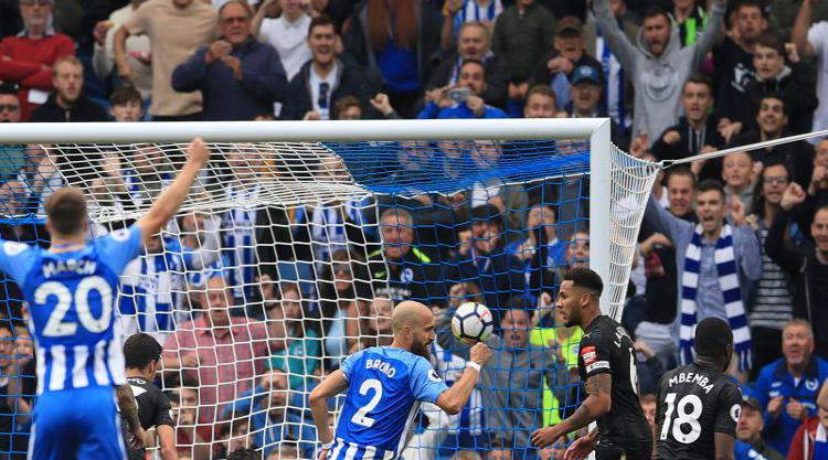 Tomer Hemed scores the only goal as Brighton beat Newcastle