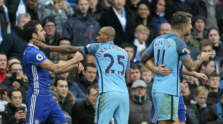 Cesc Fabregas avoids punishment as Football Association act after Etihad brawl