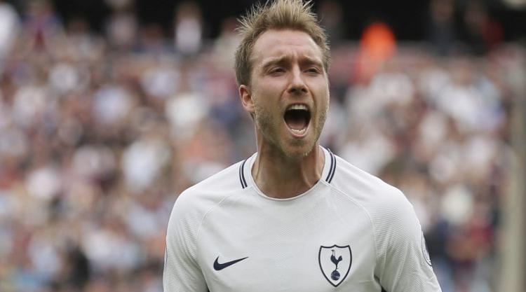 Tottenham's Christian Eriksen enjoyed a record-breaking moment against West Ham