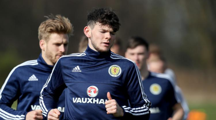Crystal Palace boss Frank de Boer could still swoop for Oliver Burke