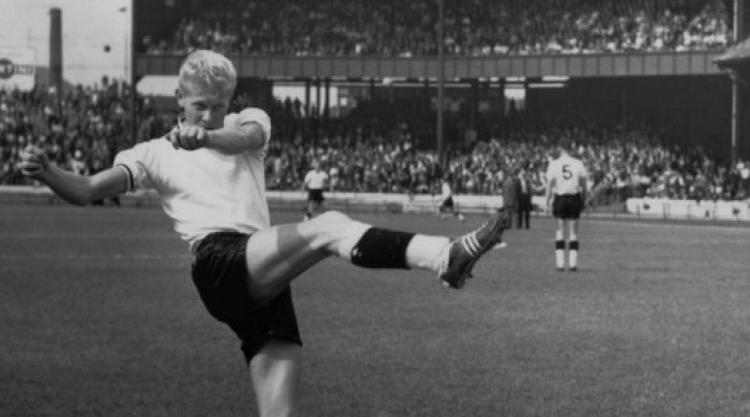 Burnley's Blond Bombshell - Ray Pointer.