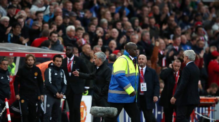 Mark Hughes accuses Jose Mourinho of sour grapes for handshake refusal