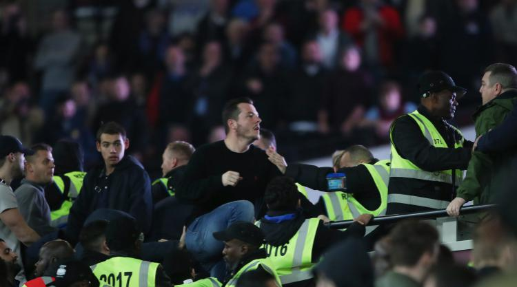 West Ham vow to punish fighting fans in EFL Cup win over Chelsea