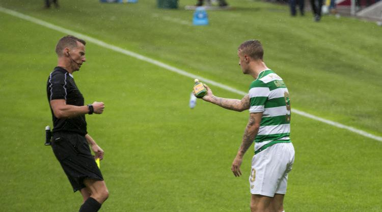 Brendan Rodgers reveals concern for Leigh Griffiths' safety after Linfield clash