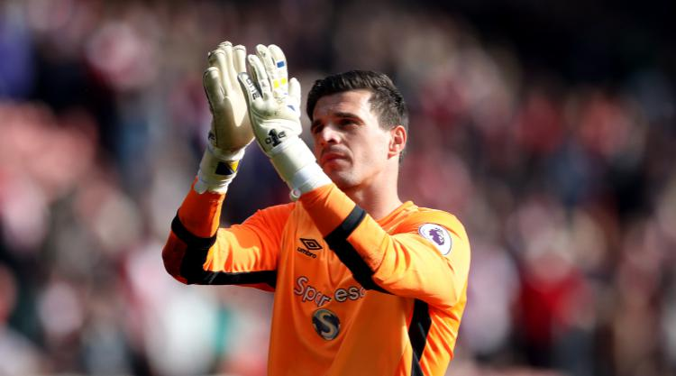 Hull confirm they have yet to receive any bids for goalkeeper Eldin Jakupovic