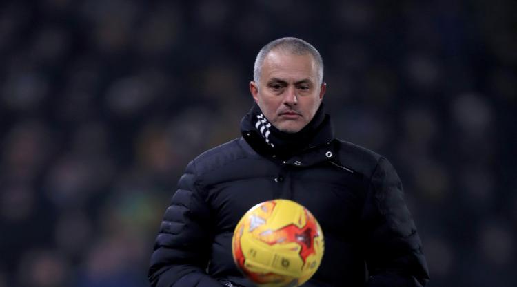 'Mourinho and Tuanzebe against Swansea', jokes Manchester United boss