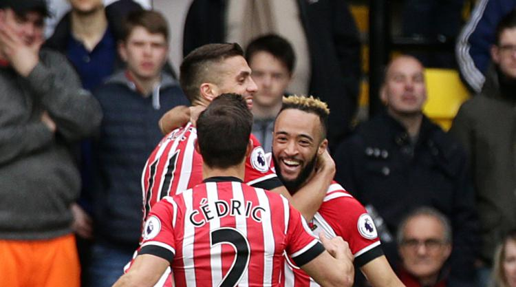 Nathan Redmond double helps Southampton see off Watford