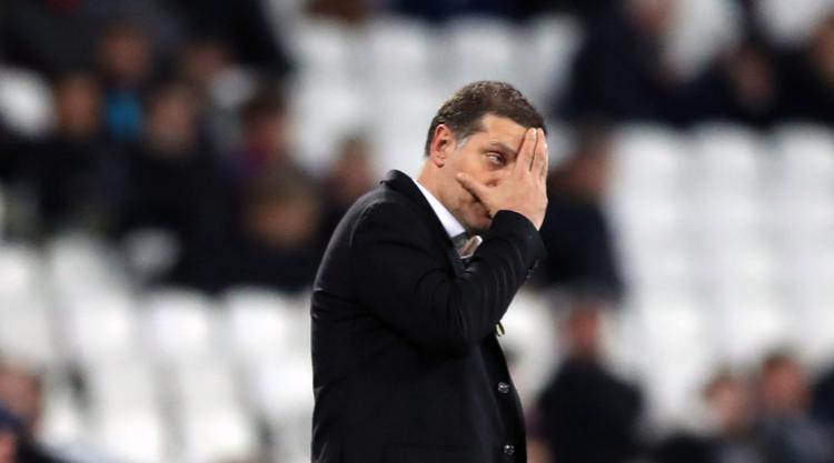 West Ham boss Slaven Bilic expected to learn his fate on Monday