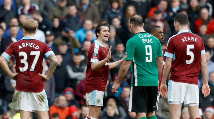 Burnley boss Sean Dyche plays down Joey Barton controversy against Lincoln