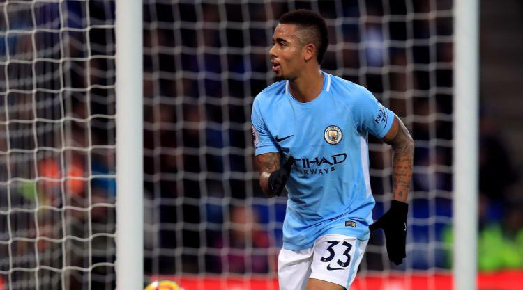 Jesus and De Bruyne on target as Manchester City's winning run goes on