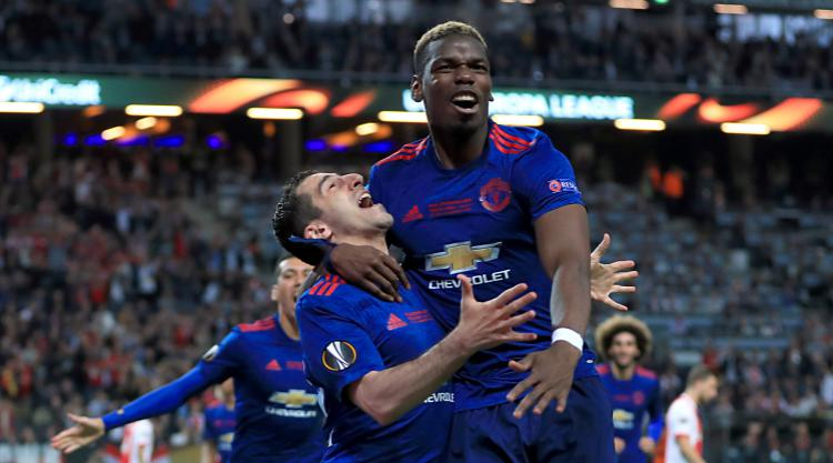 Paul Pogba dedicates United's Europa League win to victims of Manchester attack