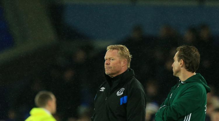 Ronald Koeman insists he is still 'the man' at Everton